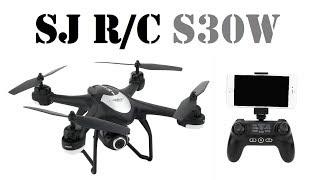 Квадрокоптер с GPS SJ R/C S-SERIES S30W (обзор снят на Xiaomi Mijia 4K Action Camera)