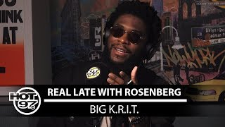Hot 97 - Big Krit on Real Late with Rosenberg