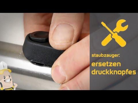 Ersetzen des Druckknopfes Ihres Staubsaugers | Das Ersatzteilecenter.de Verfahren