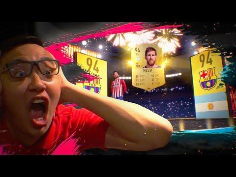 FIFA 19 - МЕССИ В ПАКЕ!