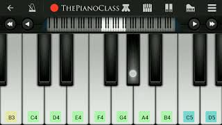 Ae Watan Piano Tutorial | Raazi | A Tribute To The Indian Army by ThePianoClass