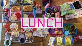 School Lunch Ideas!  - Week 7   Sarah Rae Vlogas  