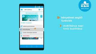 K&H mobiltárca – kiegészítő funkciók