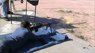 The PSL Romanian Military Marksman Rifle Attempts At 1500 Yards On 17inch Target