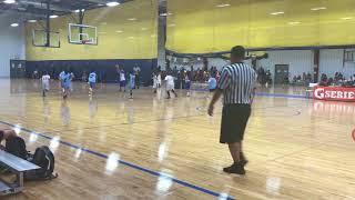 Highlights of 1st game of the season at Tarkanian Basketball Academy