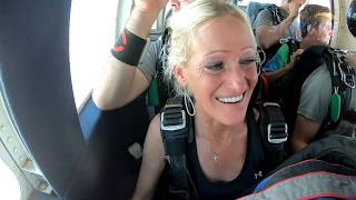 Tammy McCain's Tandem Skydive at Skydive Indianapolis!