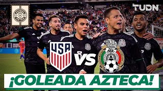 ¡Paternidad! México golea a Estados Unidos en su propia casa | USA 0 - 3 México | TUDN