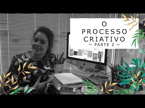 Imagem Video - O processo criativo de estampas (parte 2)