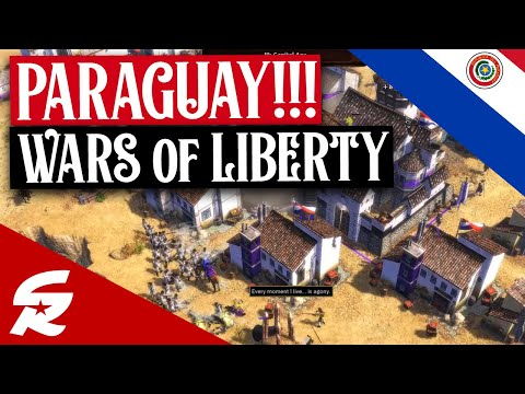 Paraguay in Wars of Liberty!! | Classic & Casual | Age of Empires III