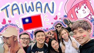 【vlog】TAIWAN! ~ ft. offlinetv & friends!