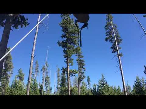Video Of Backcountry Grebe Lake site 4G2, WY