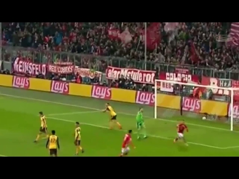 Bayern Munich VS Arsenal 5:1 All Goals and Highlights ENGLISH COMMENTARY 15/02/2017 - HD