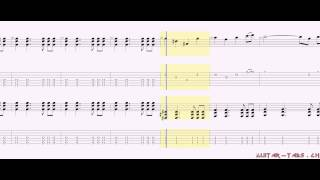 Avenged Sevenfold Tabs - Strength Of The World (distortion)