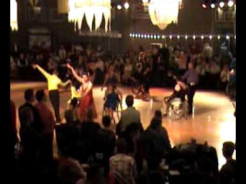 Wheelchair dancing World Cup Cuijk Amateurs combi 2 latin