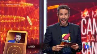 Roberto Leal Anuncia Que Agoney Estará En La Mejor Canción Jamas Cantada El Viernes 22 De Marzo.