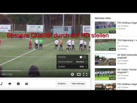 HD - Qualität einstellen