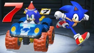 Sonic The Hedgehog In Mario Kart 7!