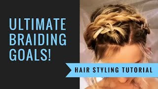 How To: Crown Braid | SexyHair | SalonCentric