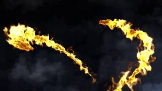After Effect : Intro template Dragon Fire / Dragon de feu