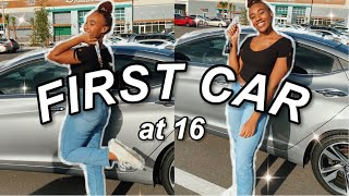 Getting My FIRST Car At 16 | Vlog