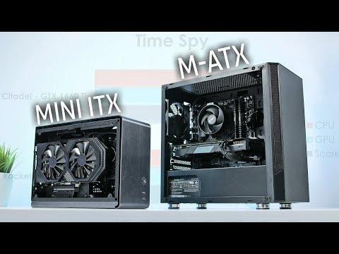 Micro ATX vs Mini ITX  PC | Ist ein ITX GAMING System SCHLECHTER?!