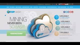 TopHash   3% täglich   Bitcoins verdienen
