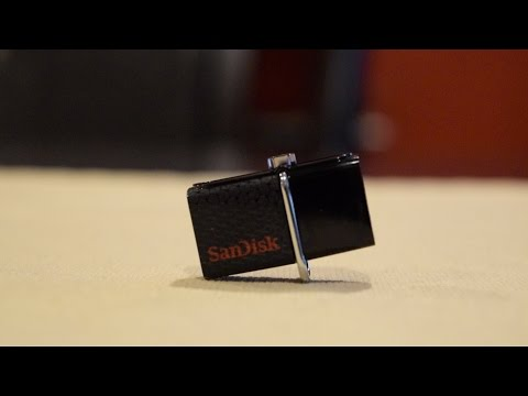 SanDisk Ultra 64GB USB 3.0 OTG Flash Drive