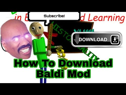 How to download Null zerep mod baldi's basic in education
