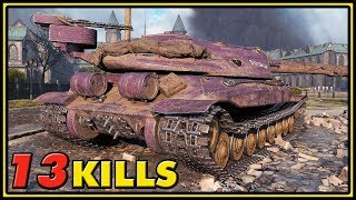Object 705A - 13 Kills - World of Tanks 1.0 Gameplay