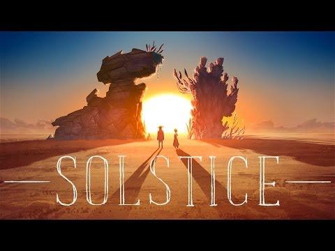 solstice fantasy western is a 2d animated short by furyoso