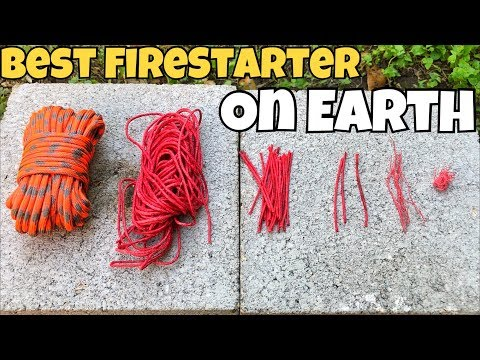 The Absolute Best FireStarter on Earth | 2017