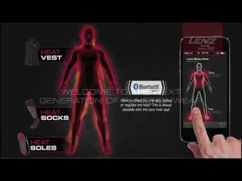 Beheizbare Socken mit Lenz Heat App