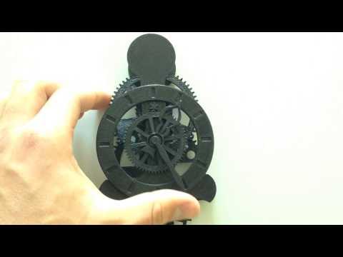 3D Druck Uhrwerk Kuckucksuhr