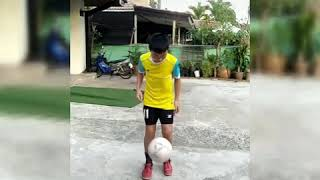 เดาะบอลไม่ได้ฝึกไว้โชว์  แต่ฝึกจนโชว์ได้