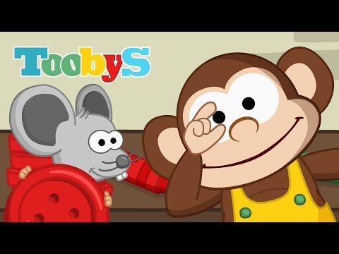 A Disotto di un Bottone - Filastrocche per i bambini - Toobys