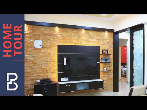Walkthrough of Mr. Arun 2 BHK House | Interior Design | LVS Gardenia | Bangalore
