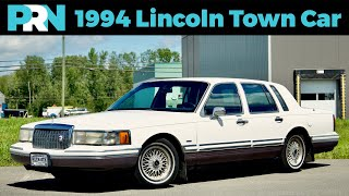 1994 Lincoln Town Car Signature Series Full Tour & Review