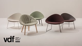 Arper Reveals Adell And Aston Club Chairs | VDF X Arper | Dezeen