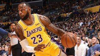 LeBron Huge Slam! Barton Shot Clock Cheese! 2018-19 NBA Preseason