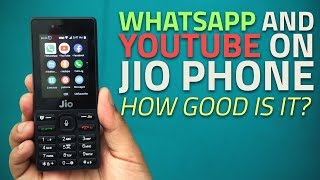 WhatsApp and Facebook on Jio Phone: Hands-On Impressions