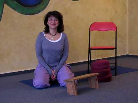 Meditation - einfache Sitzhaltungen