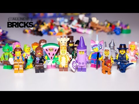 Vidéo LEGO Minifigures 71023 : Série La Grande Aventure LEGO 2