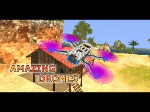 Amazing Drones - Free Flight Simulator Game 3D Android