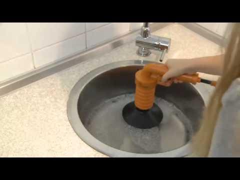 Waschbär Frühjahr/Sommer 2013 Pressluft-Rohrreiniger
