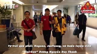 [Độc quyền] Bangkok titans vừa đến sân bay Tân Sơn Nhất www.ttdt.vn