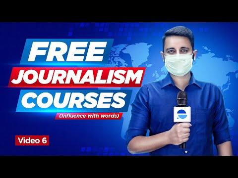 🔥Free Journalism Courses 🔥  Career in Mass Communication   Links in Description   Journalism course
