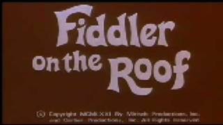 Fiddler on the Roof Movie