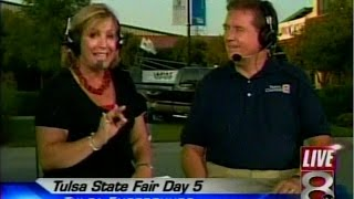 KTUL-TV, Ch. 8 Tulsa, OK, 6 PM news segment, from September 29, 2008