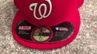 How to spot fake MLB hats