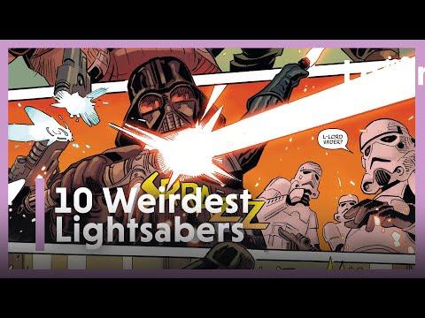 10 Best Star Wars Lightsabers, Ranked By Weird